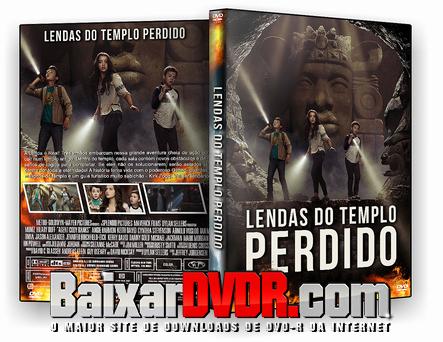 Lendas do Templo Perdido (2017) DVD-R Autorado
