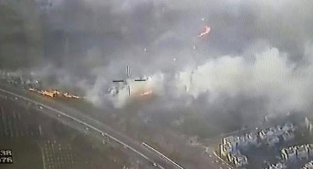 Kebakaran Hebat Melanda Israel, Netizen: Karena Larangan Adzan?