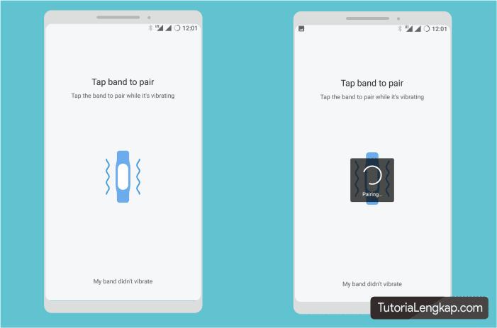 Tutorialengkap Cara menyambungkan atau pairing MI Band 3 dengan hape android