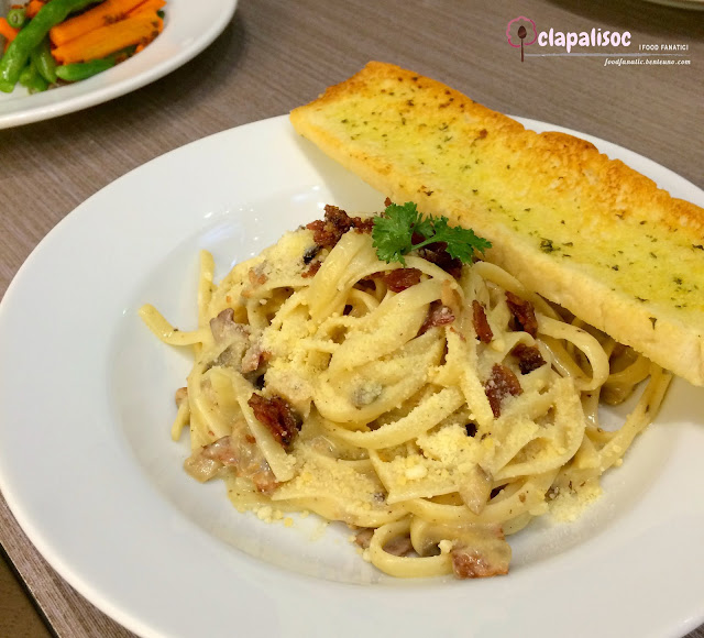 Fettuccine Carbonara from Sugar House