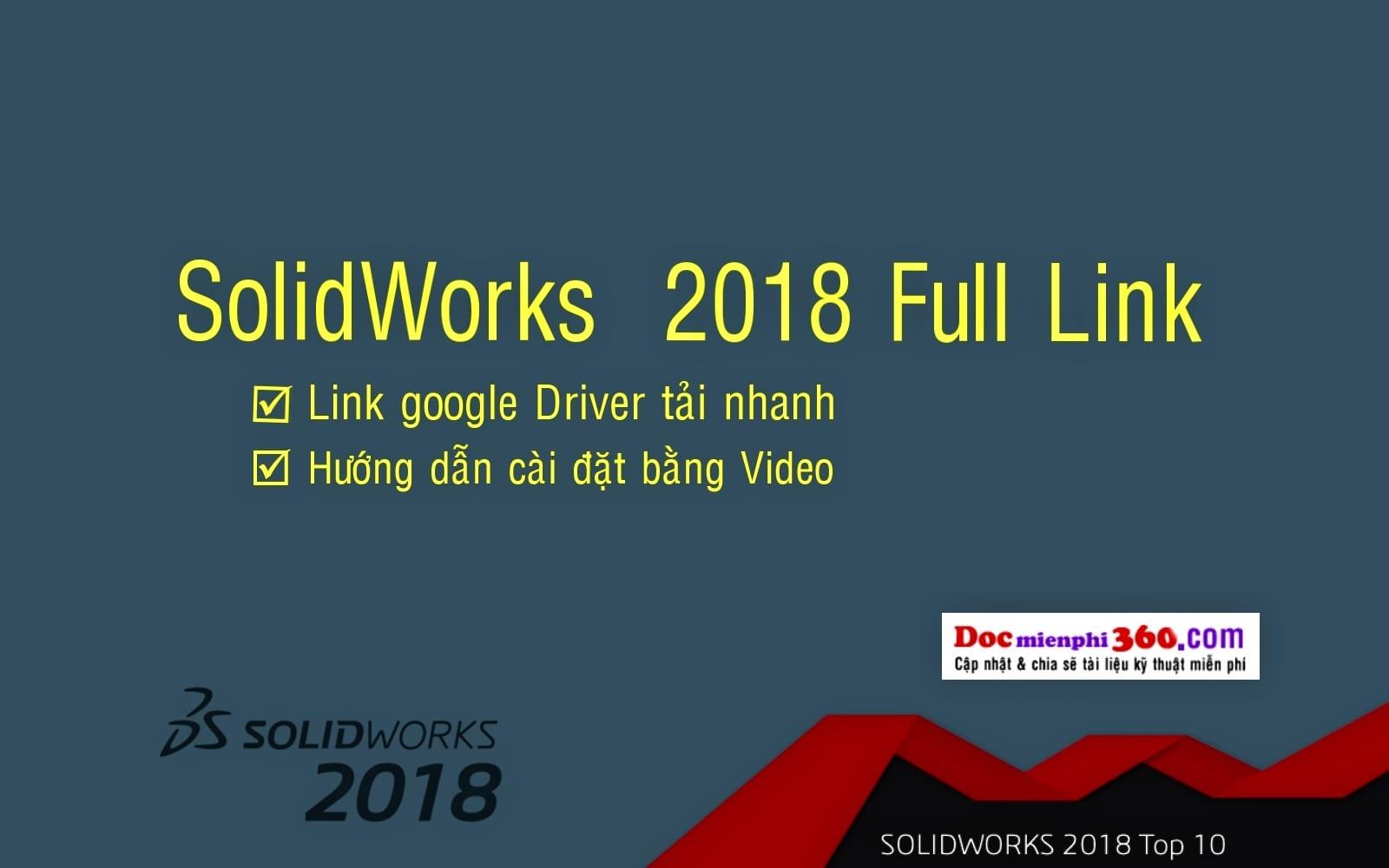 download solidworks 2018 full crack 64 bit free