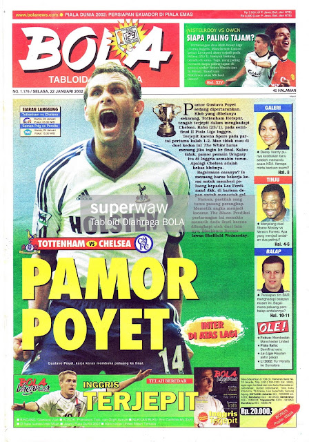 TABLOID BOLA: PAMOR POYET