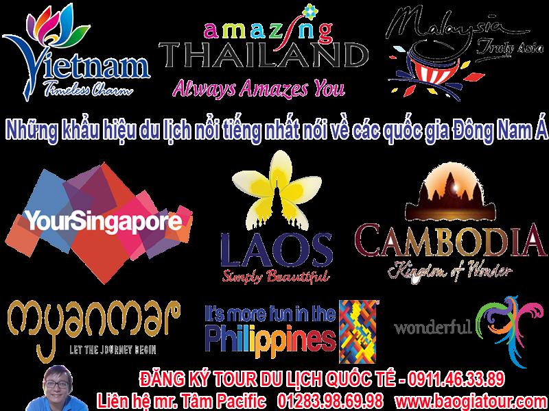 Những khẩu hiệu du lịch nổi tiếng nhất nói về các quốc gia Đông Nam Á