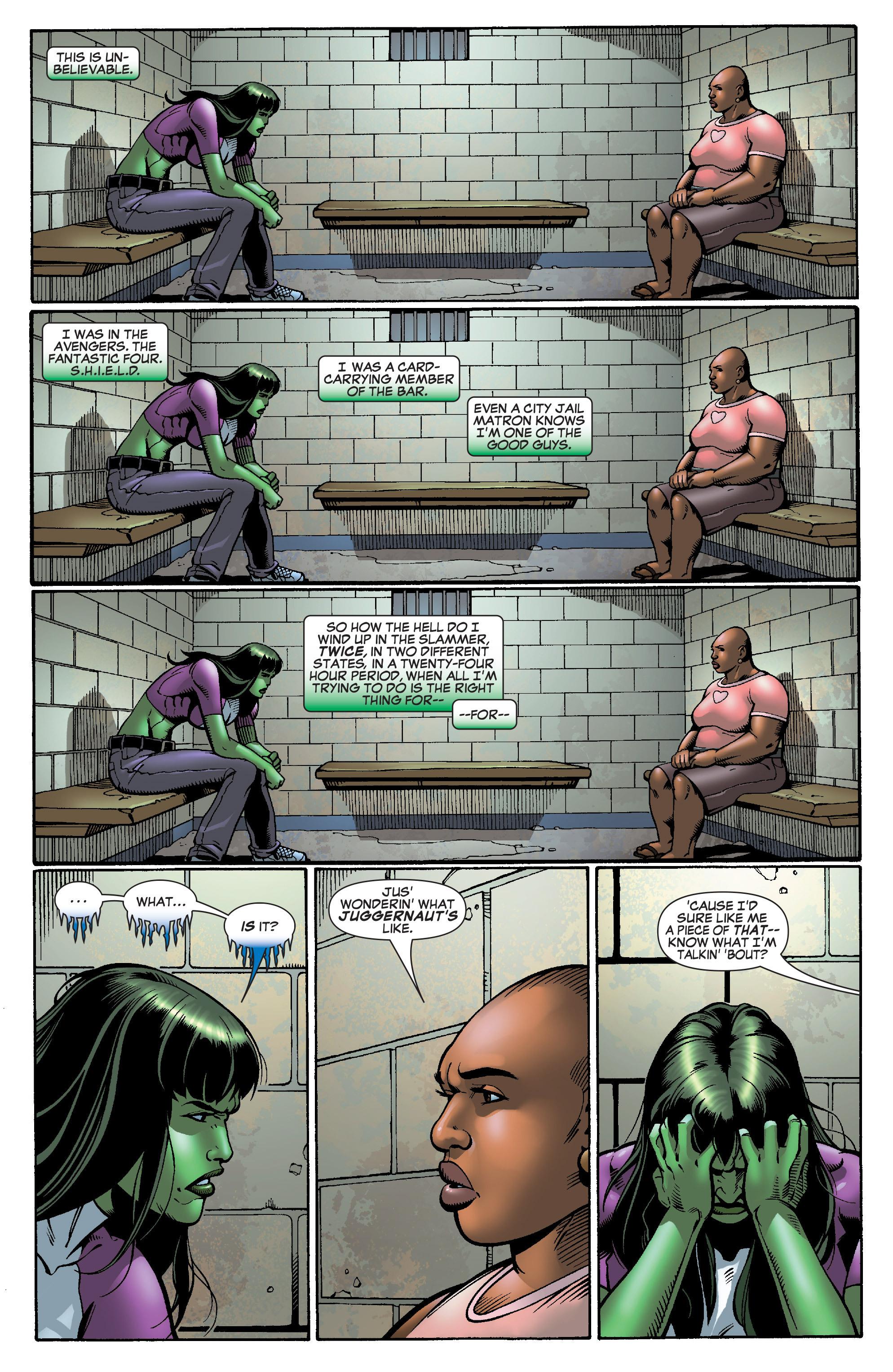 Read online She-Hulk (2005) comic -  Issue #28 - 5