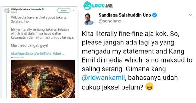 7 Status Pakai Bahasa 'Anak Jaksel', Licereli Wicis Lah Pokonya!