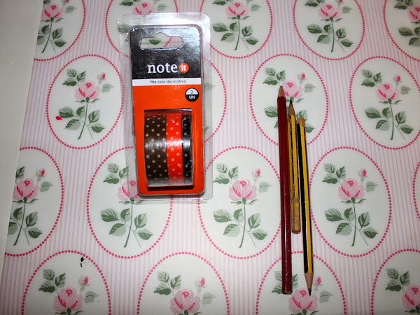DIY - Lápis decorados