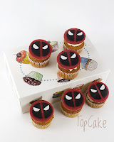Cupcake, lasten juhla, teema, juhla, supersankari cupcake, topcake, kuppikakku, tilaus kuppikakku,