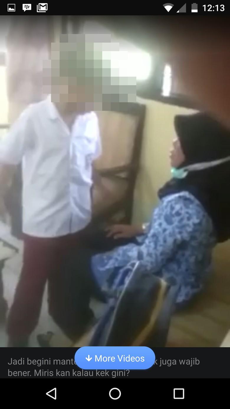 Viral di Medsos, Bocah SD Melawan Ibu Gurunya Sendiri