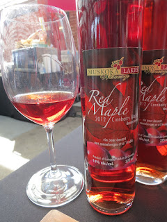 Muskoka Lakes Winery Red Maple Cranberry Maple 2012 (90 pts)