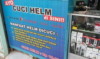 Melirik Usaha Salon Dan Cuci Helm