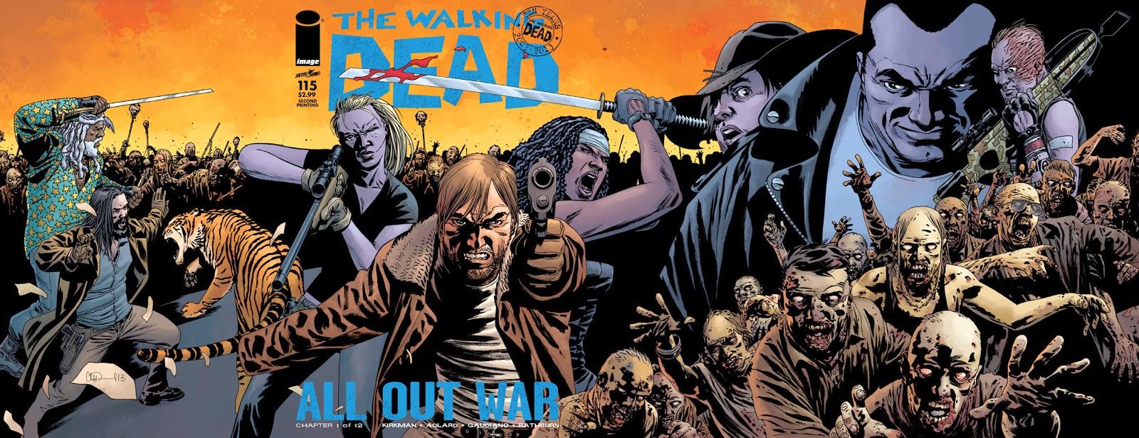 Dead pdf book walking comic