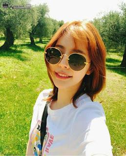 Foto Cantik Sunny SNSD Pakai Kacamata