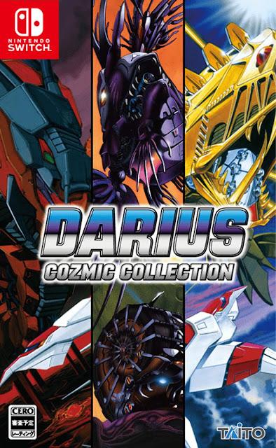 Taito announces Darius Cozmic