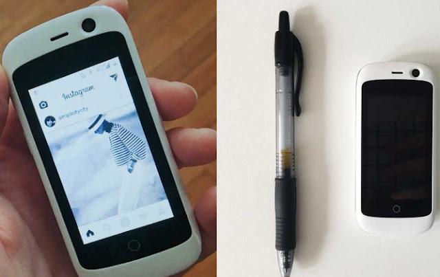 ponsel pintar dengan jaringan 4G terkecil di dunia