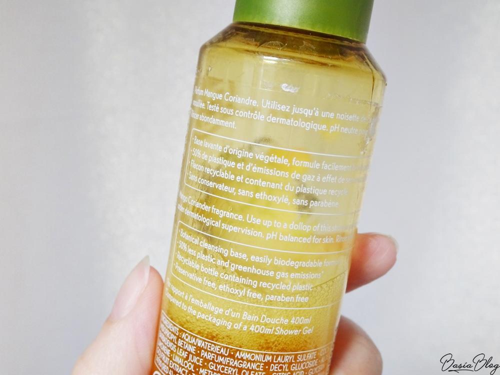 skoncentrowany żel pod prysznic Yves Rocher mango i kolendra