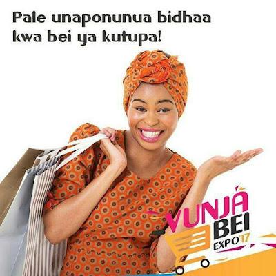 Upo Dar Es Salaam,Unapenda #Shopping Za Bei Rahisi?, Imiliki Wikiendi Hii Na #VunjaBeiExpo