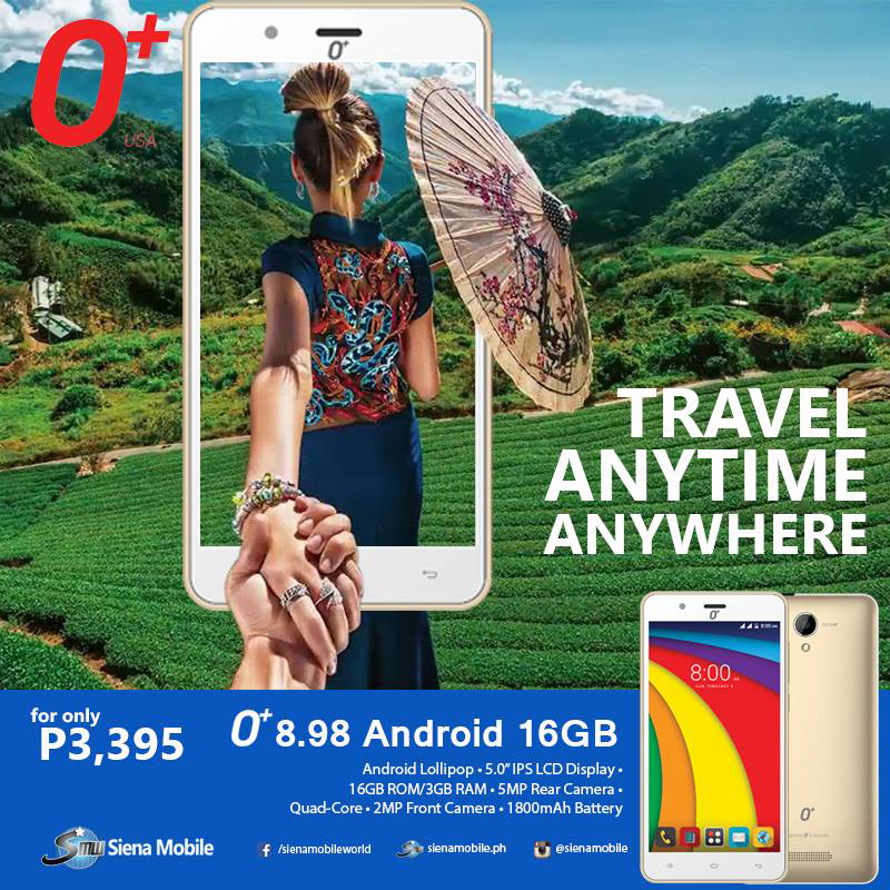 O+ 8.98 Spotted, Entry Level Goodness For PHP 3995?