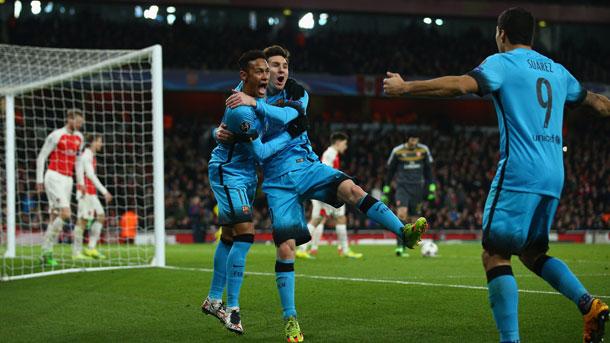 Jerome Boateng se deshace en elogios hacia el tridente del Barça