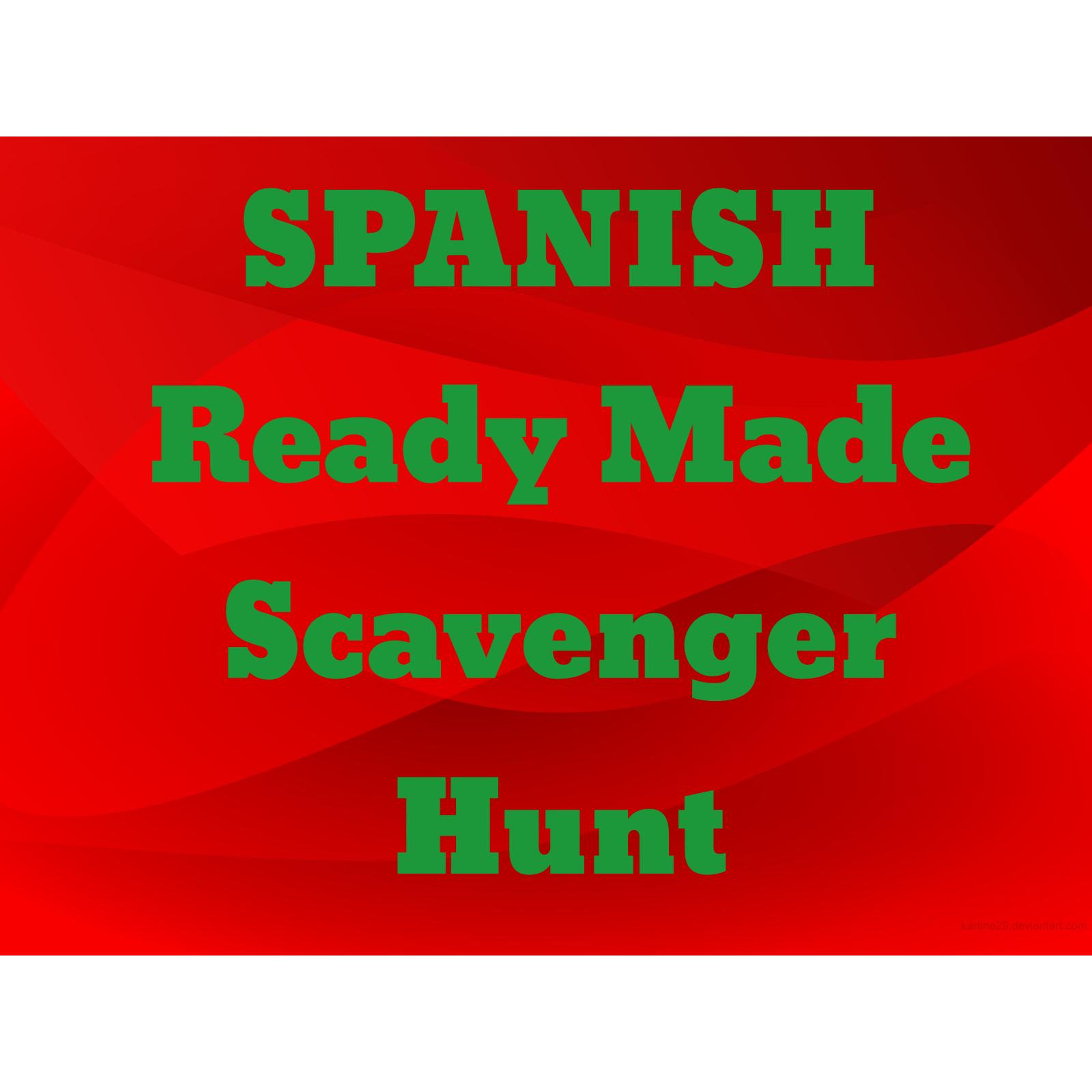 Senora Baxter S Spanish Class Qr Code Scavenger Hunt