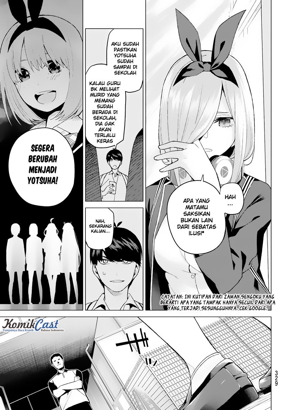 Komik Go-Toubun No Hanayome Chapter 19 Bahasa Indonesia