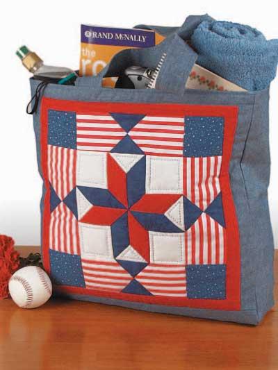 St. Louis Tote Bag Free Pattern