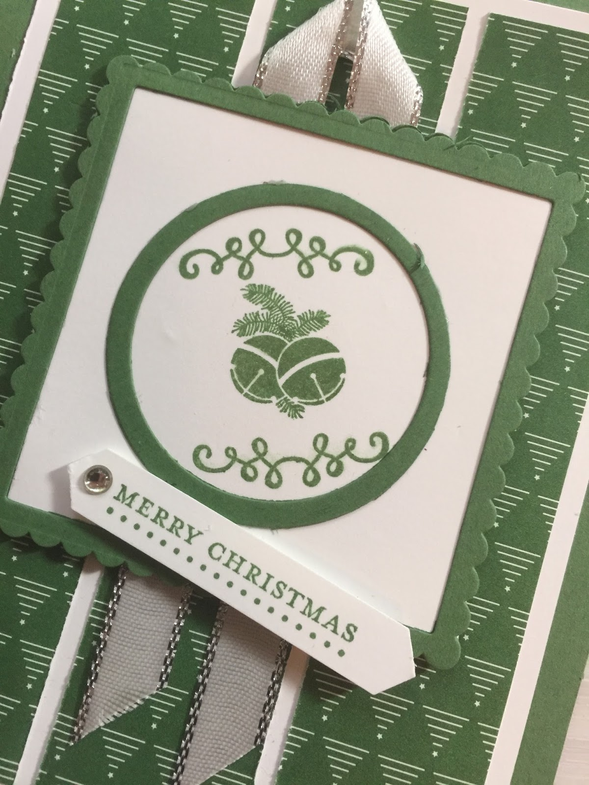 Stamped Sophisticates: Holiday Card with Oh, What Fun Stamp set from ...