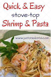 Quick and Easy Stove-Top Shrimp and Pasta