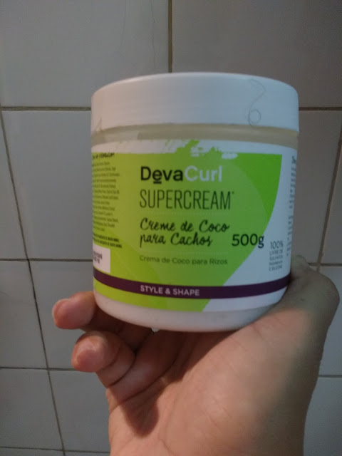 Deva Curl Creme de Pentear Suprecream