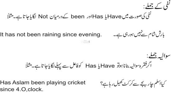 Past Perfect Continuous Tense Exercises In Urdu - lesson 24