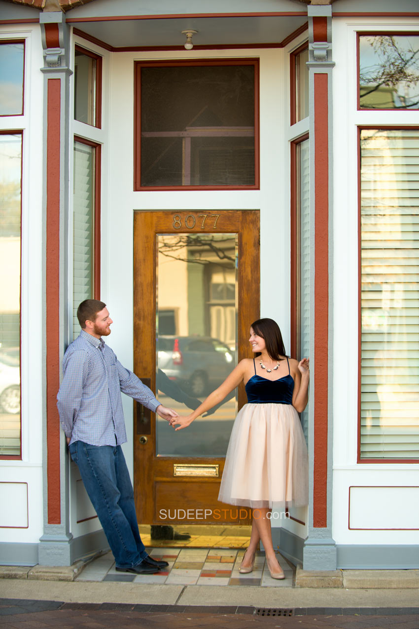 Dexter downtown Engagement Session - Sudeep Studio.com