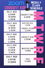 Want to try CrossFit? Join us for a ZOOM class