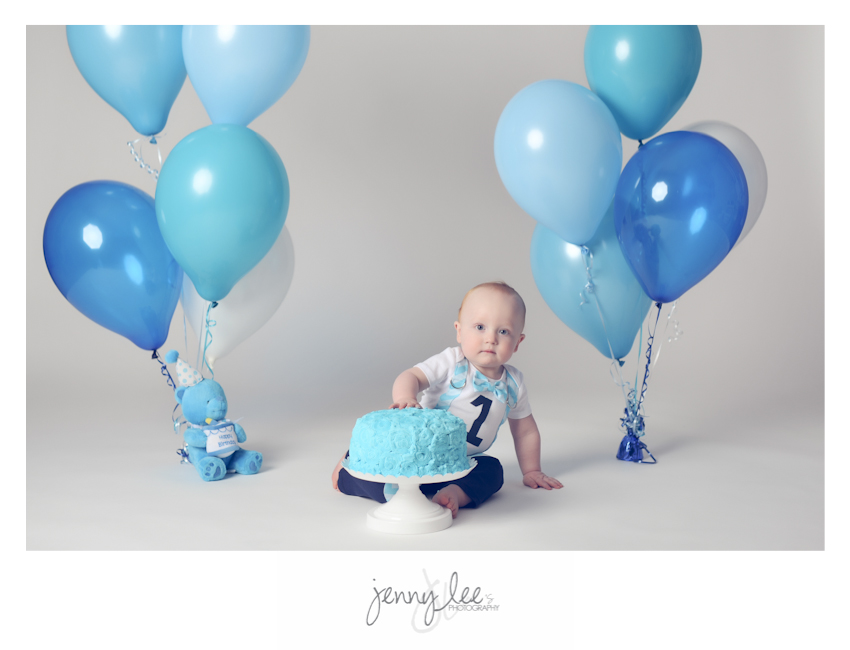 Wyoming 1-year baby portraits