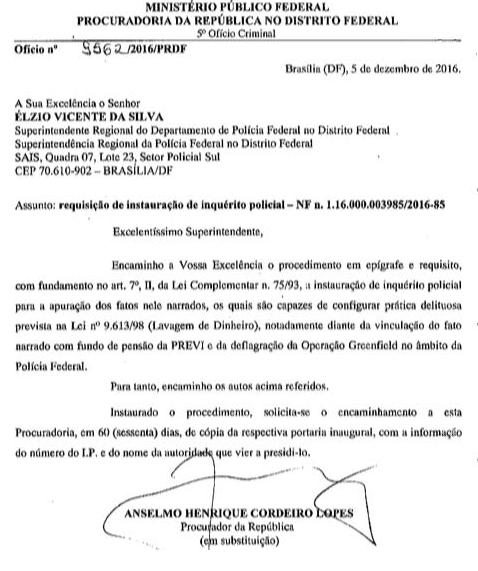 SE GRITAR PEGA LADRÃO.....Exclusivo: Ex-presidente da Previ é investigado