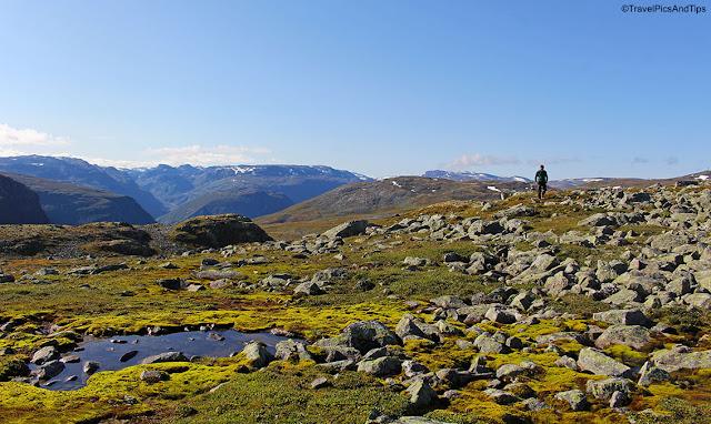 Route NT Aurlandsfjellet, Norvège du sud