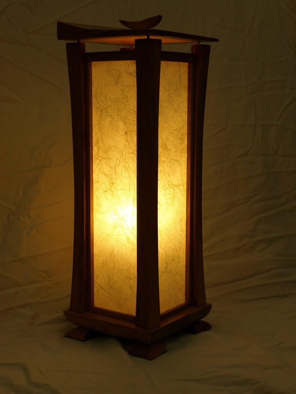 Taylor BenchWorks: Shoji Lamps Finished