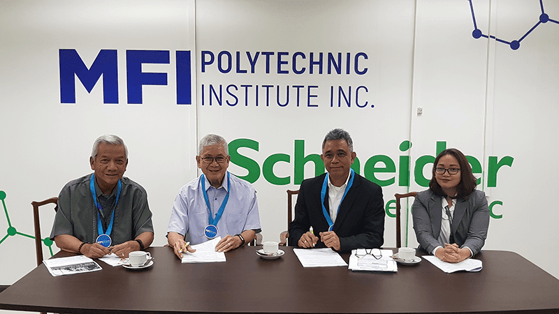 Schneider Electric team up with MFI Polytechnic Institute