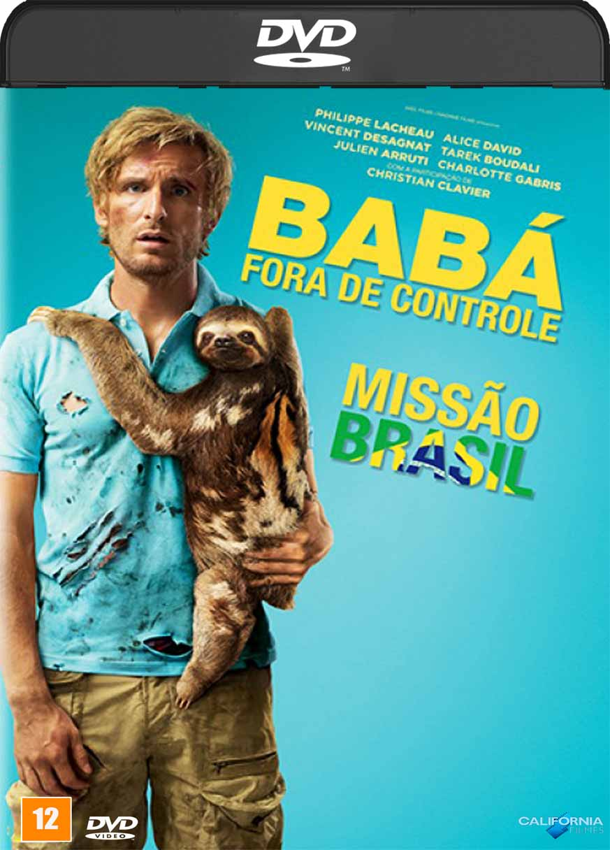 Baba Fora de Controle (2016) DVD-R Oficial