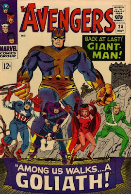 Avengers #28, Giant-Man is back