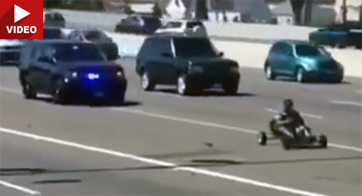 Mario Kart Meets Grand Theft Auto In Bizarre Oakland Police Chase