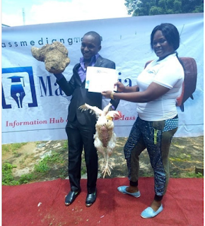 Best Graduating Student Gets Tuber Of Yam, Live Chicken As Reward