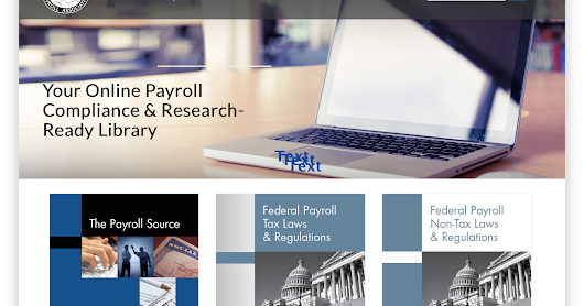Using XML to Create a Better Online Reading Experience for the American Payroll Association