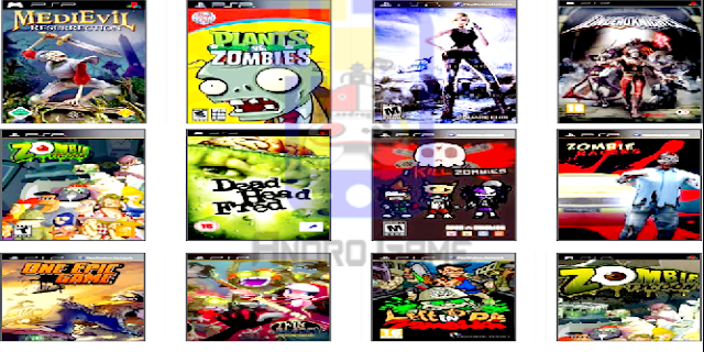 Kumpulan Game Zombies PPSSPP ISO