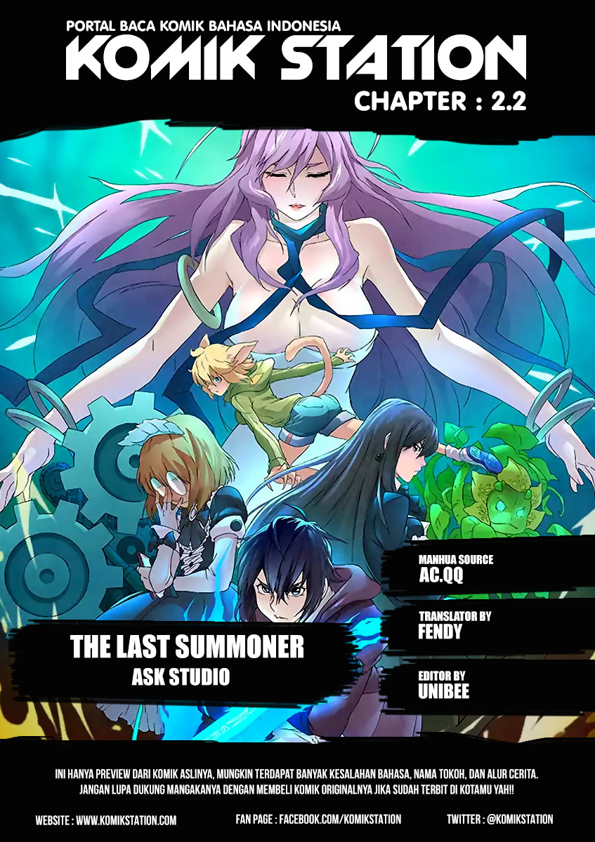 The Last Summoner Chapter 2.2
