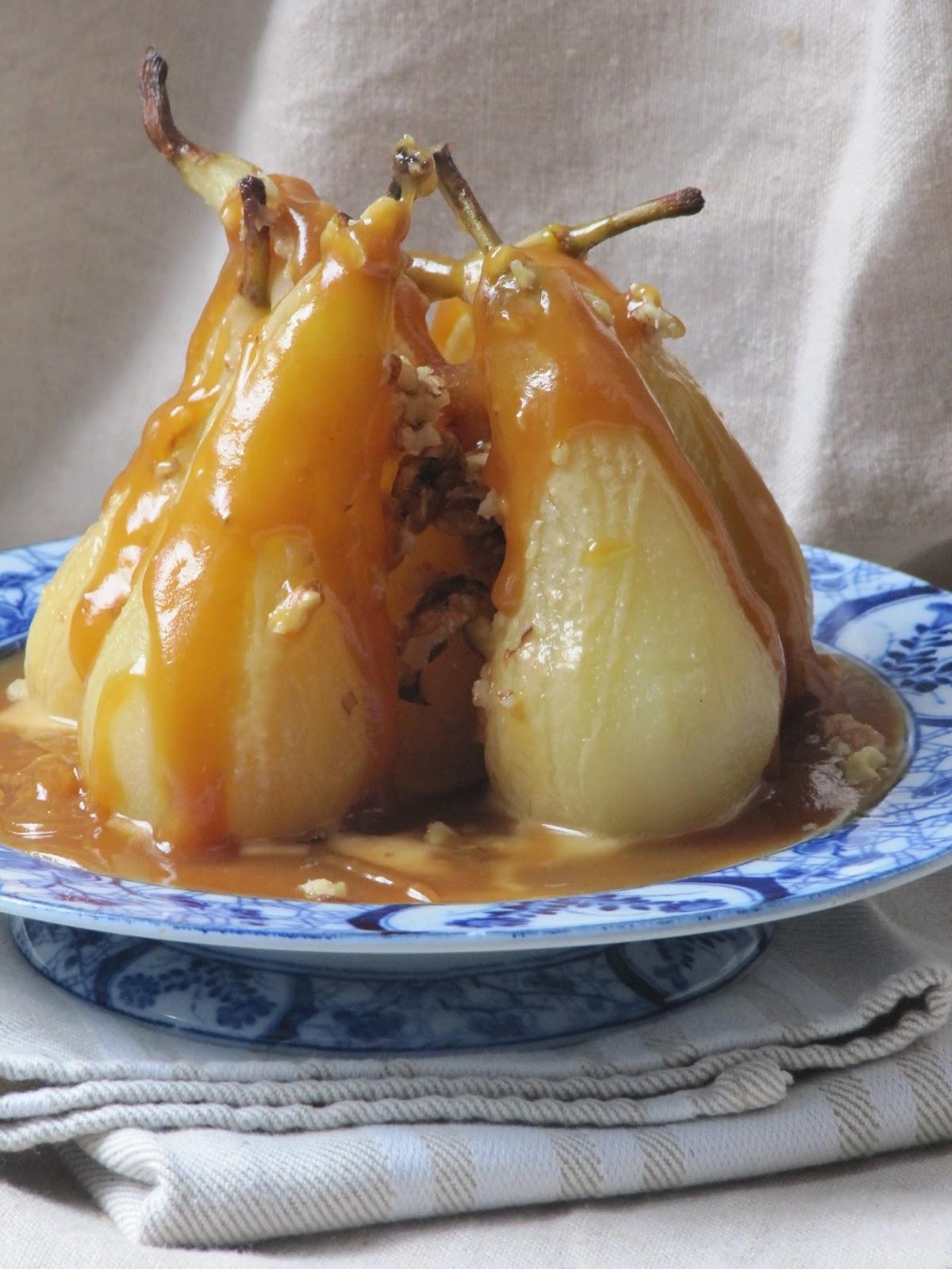 la cuisine d ici et d isca poires poch 233 es au caramel au beurre sal 233