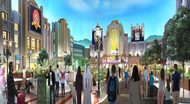 Warner Bros.Wolrd Abu Dubai