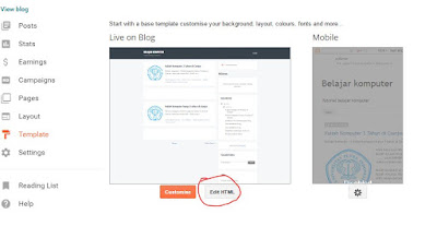 cara membuat keyword atau kata kunci pada blog