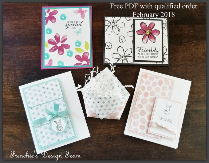 Garden in Blooms, A good Day, Free Tutorial, Frenchie's Design Team, Stampin'Up!