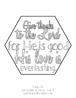 Click Here For The Full Size Psalm Coloring Pages April