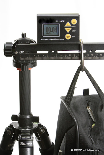 Sunwayfoto DDH-03 PC w/ rail + sandbag - torque test