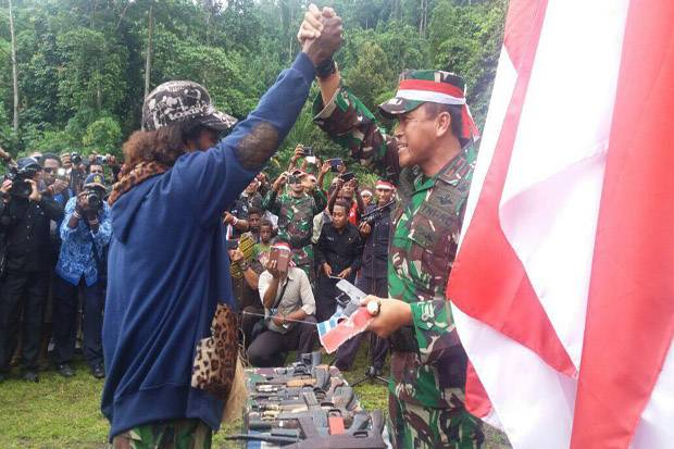 Banyak OPM Gabung NKRI, TNI: Mereka Lihat Pembangunan Papua Makin Maju